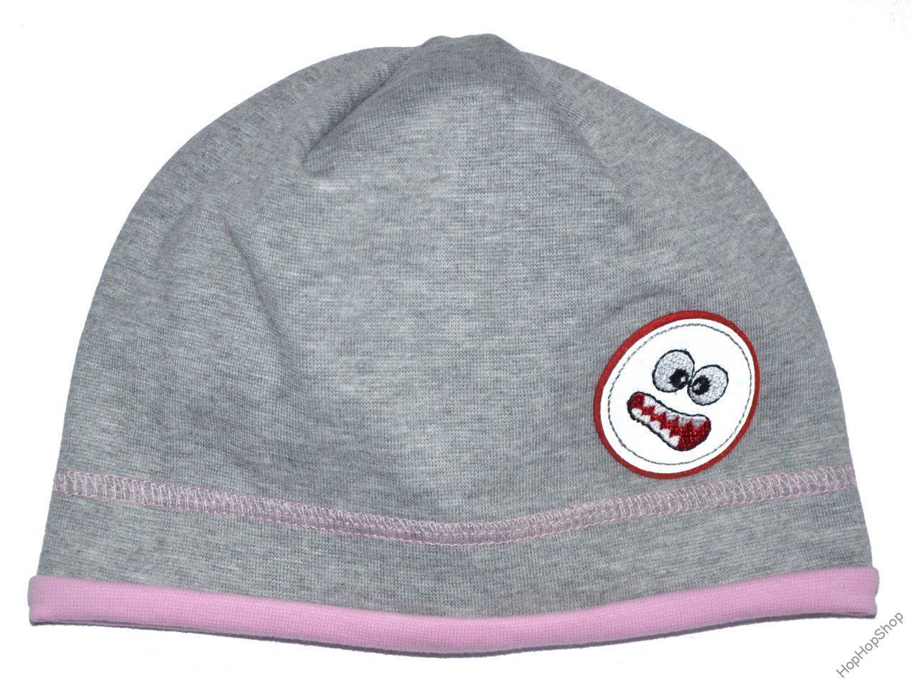 8fac576d5be Karpet Hugo 08 čepice bavlna šedá+růžová A