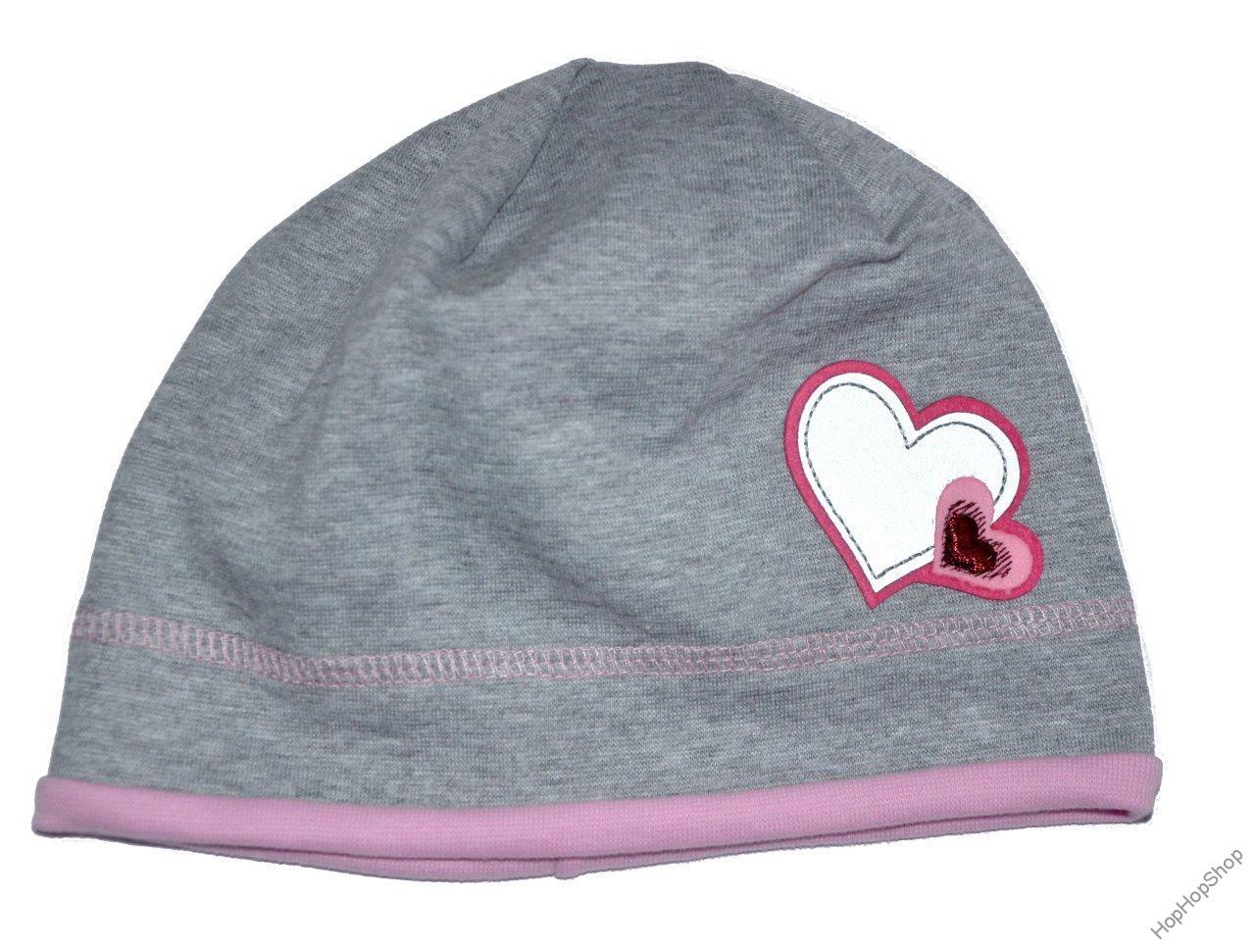 0aeaa22132b Karpet Hugo 08 čepice bavlna šedá+růžová B