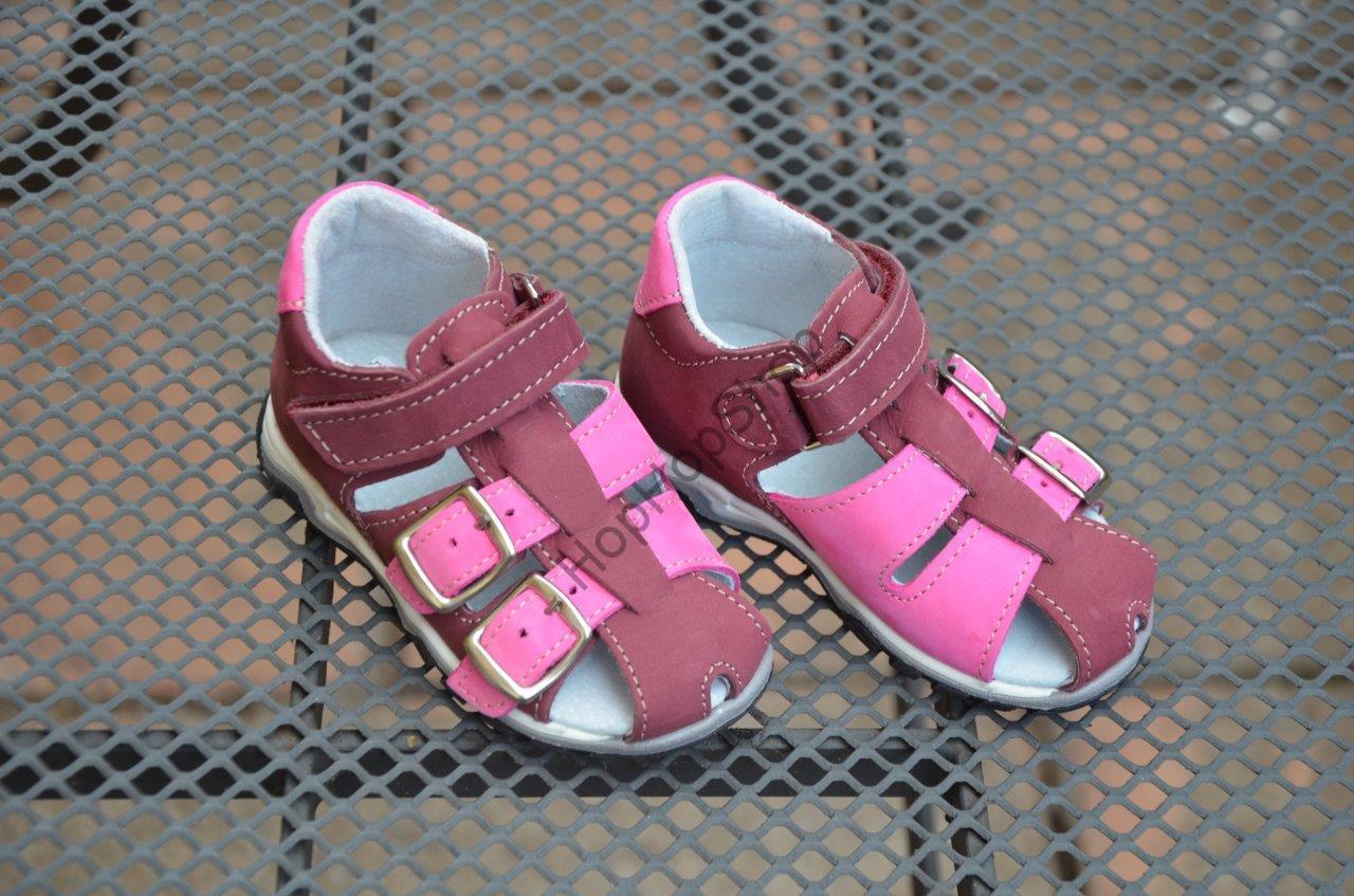 83cba19248c Jonap 013N dětské kožené sandálky