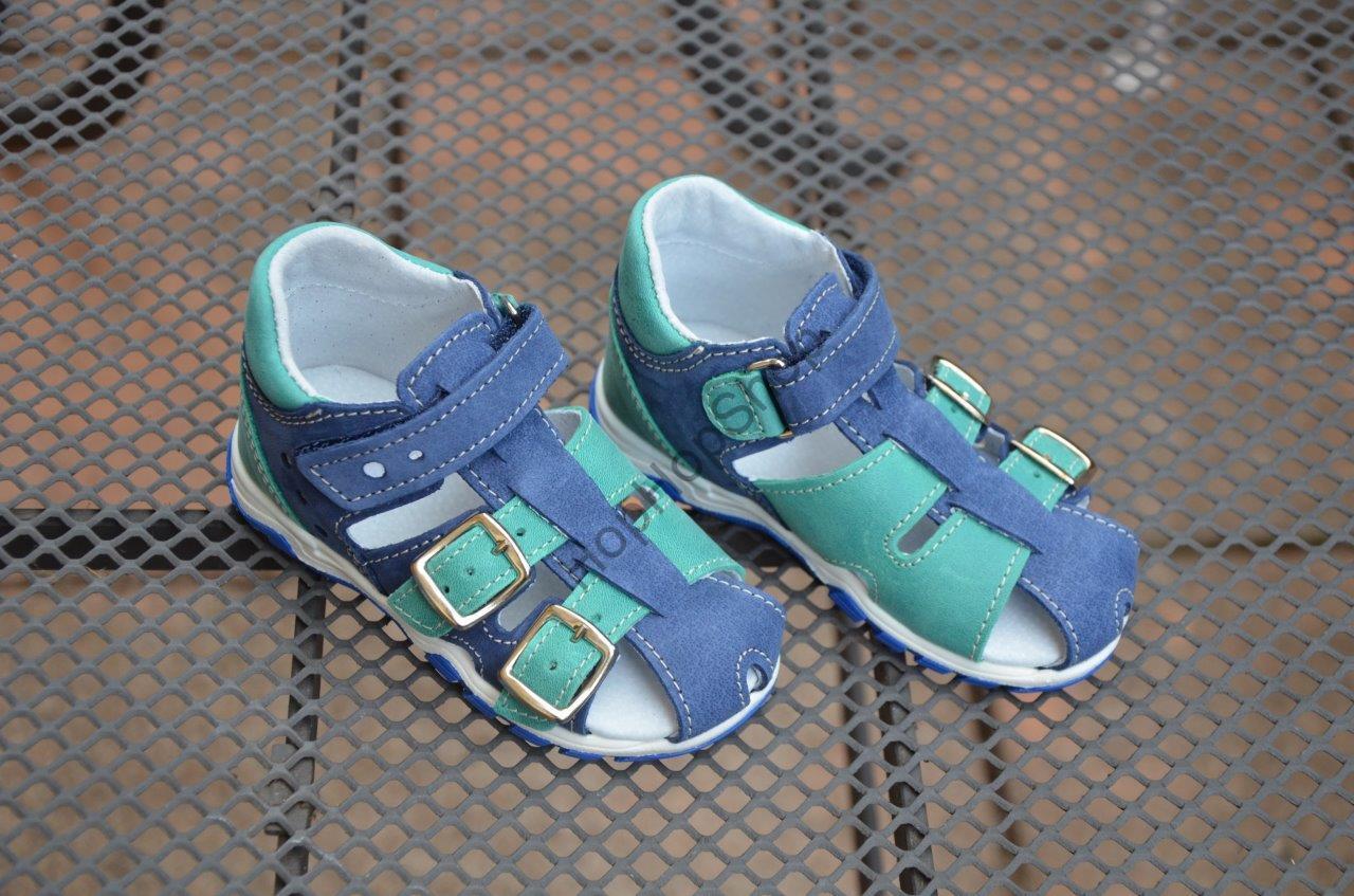 bd74759cd9f Jonap 017n dětské kožené sandálky