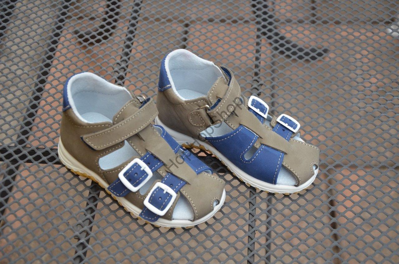277cb31c187 Jonap 013 dětské kožené sandálky