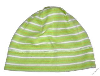 f7194612511 Karpet Hugo 03 čepice bavlna pruhy H zelená+bílá empty